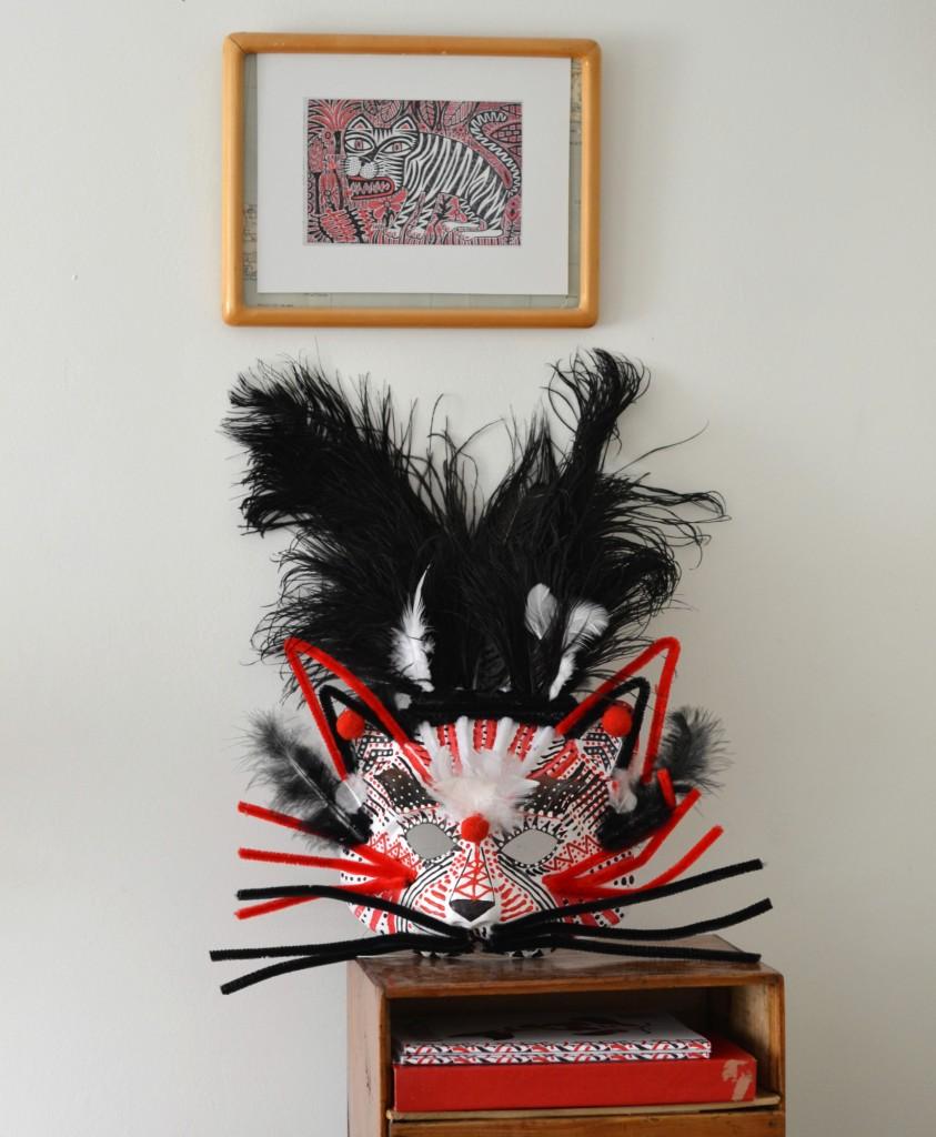 "Masque ""Tigre de Venise"" - La Fabutineuse"