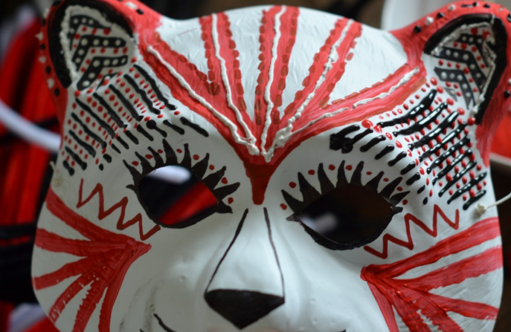 "Masque ""Tigre de Venise"" - La Fabutineuse - étape 1"