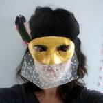 """Masque """"Gold & black"""" - Emilie sans chichi"""