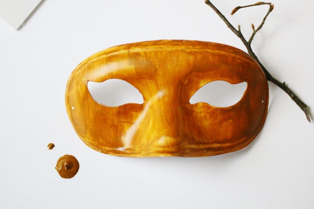 DIY Masque Fée des bois - Dollicious - étape 2
