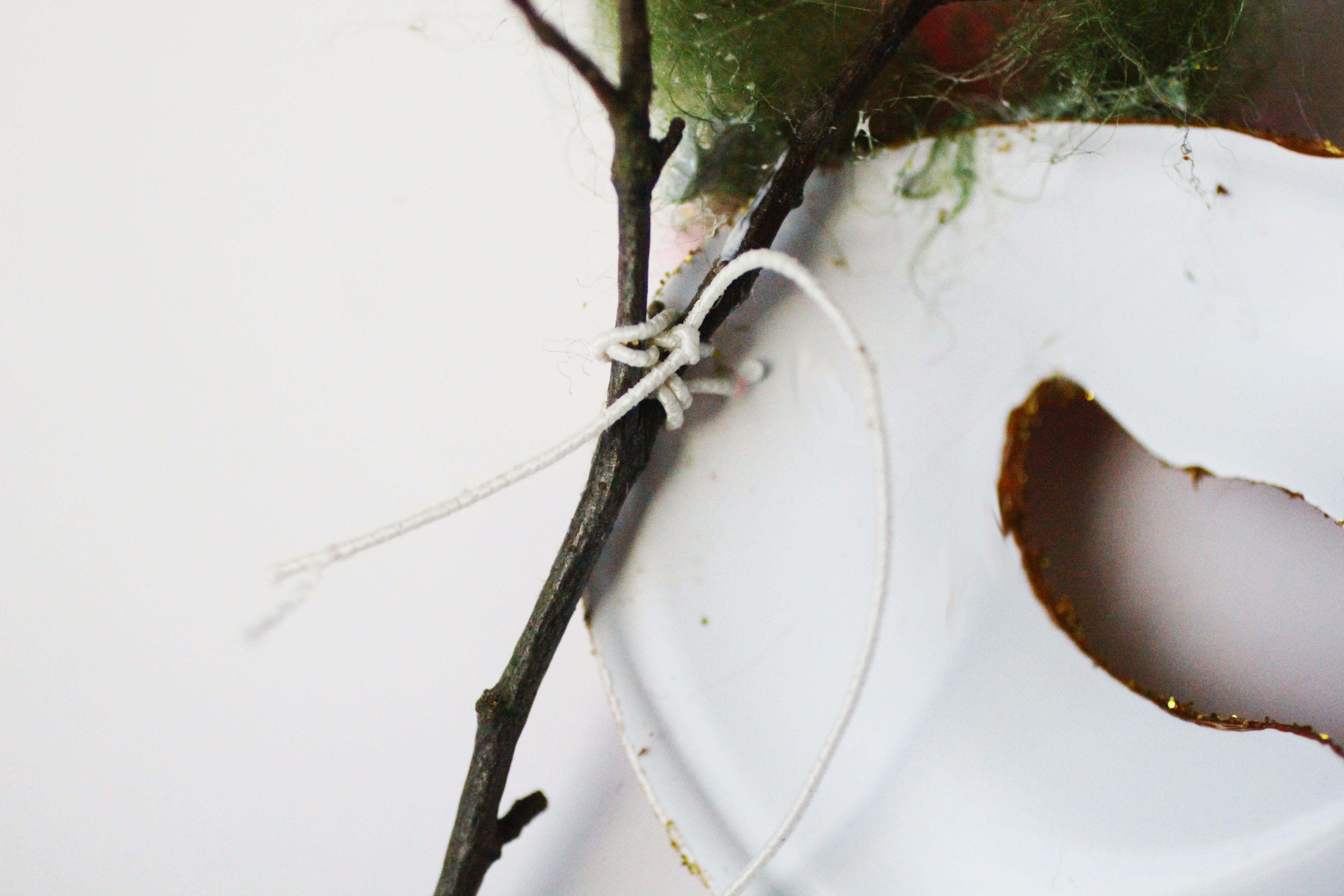 Diy masque f e des bois le blog rougier ple for Achat branche bois