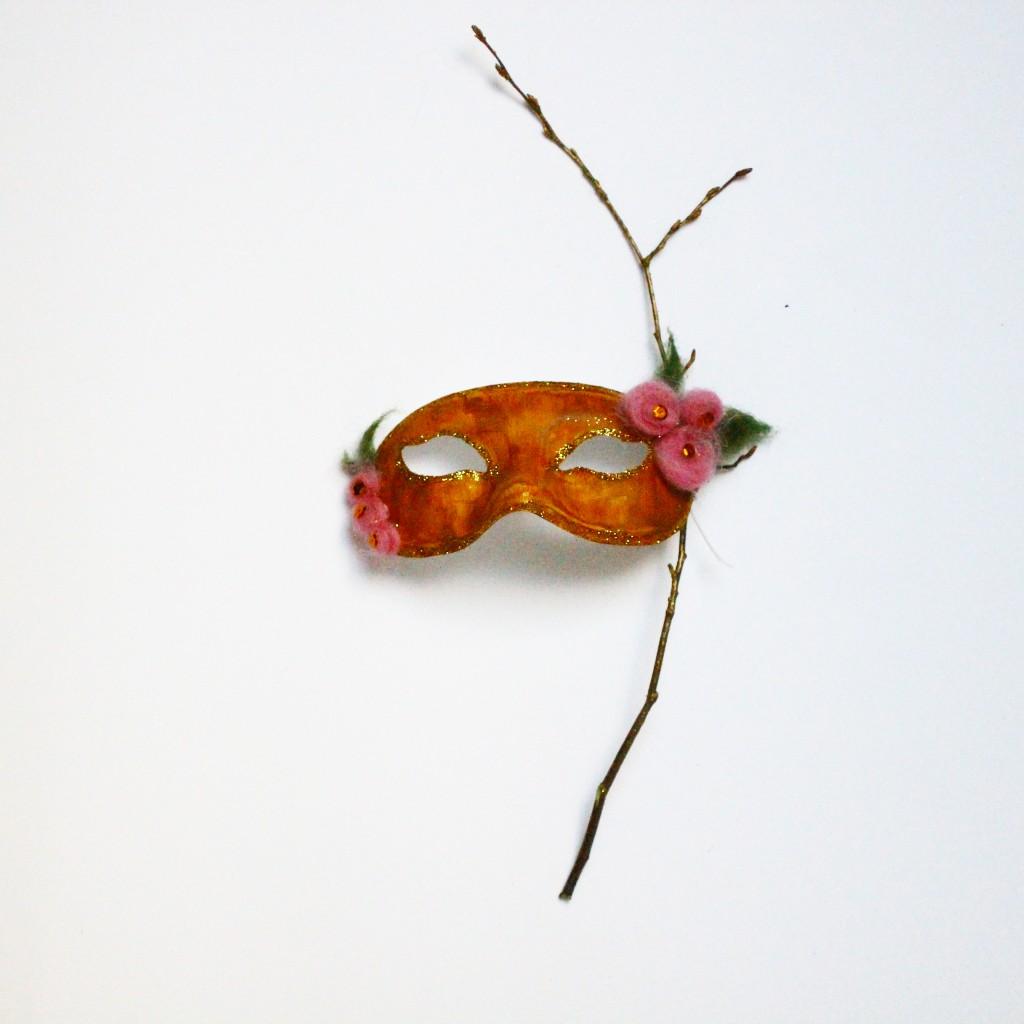 DIY Masque Fée des bois - Dollicious