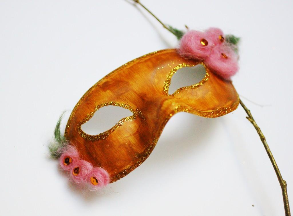 """DIY Masque """"Fée des bois"""" - Dollicious"""