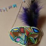 Masque coloré & phosphorescent - Quotidien créatif