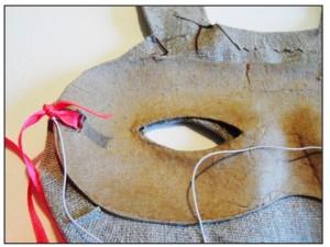 DIY Masque Lapin - M comme Mum - étape 2