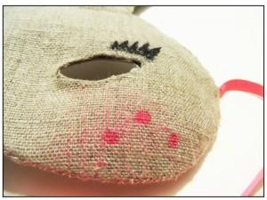DIY Masque Lapin - M comme Mum - étape 6