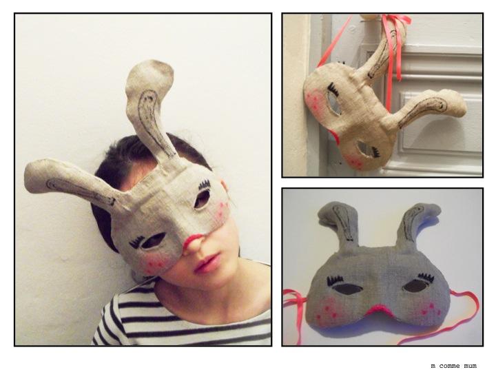 DIY Masque Lapin - M comme Mum