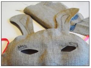 DIY Masque Lapin - M comme Mum - étape 3