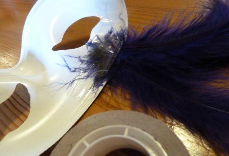 DIY Masque coloré et phosphorescent - Quotidien créatif - étape 5