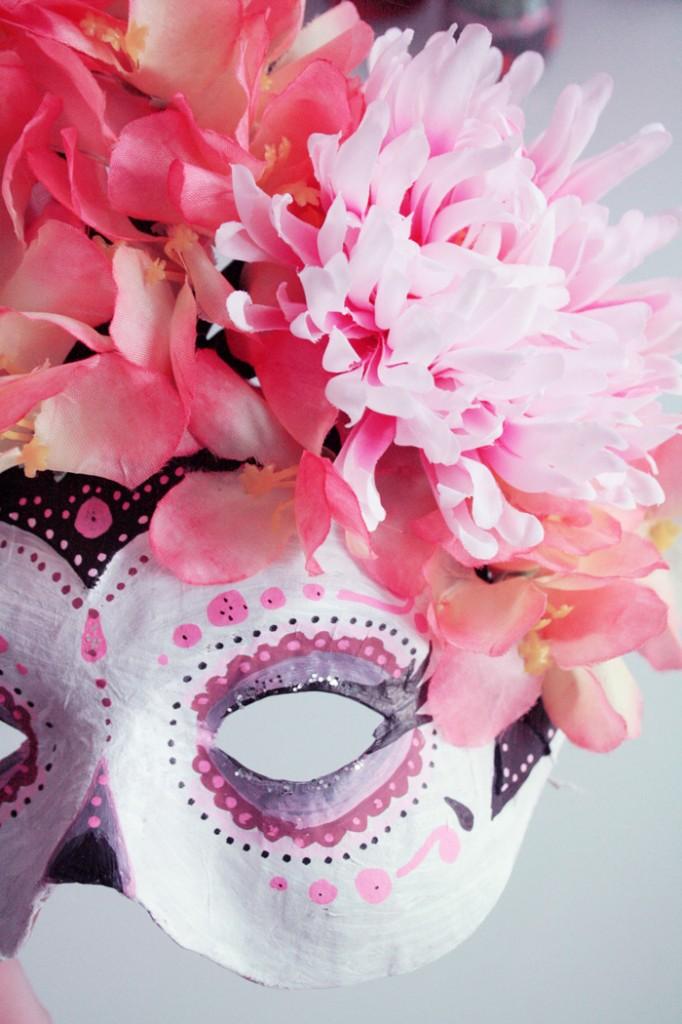 """Masque """"Dia de los muertos"""" - Poulette magique"""