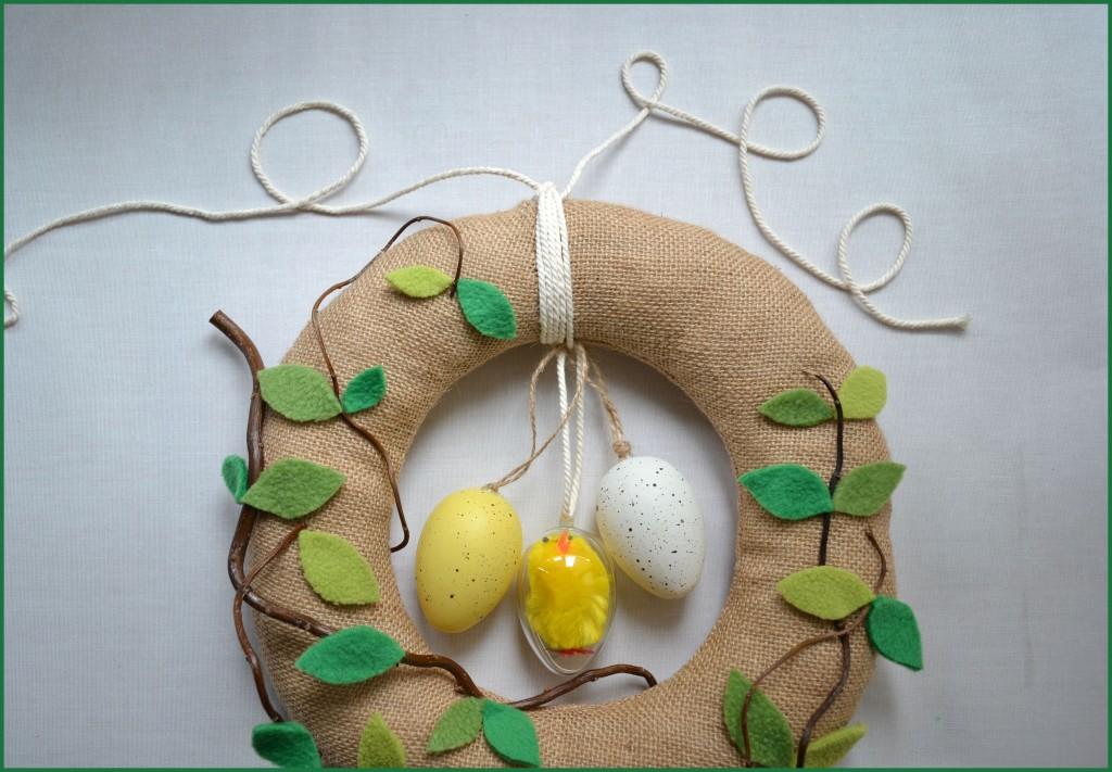 Couronne de Pâques DIY 4