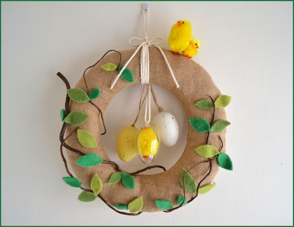 Couronne de Pâques DIY