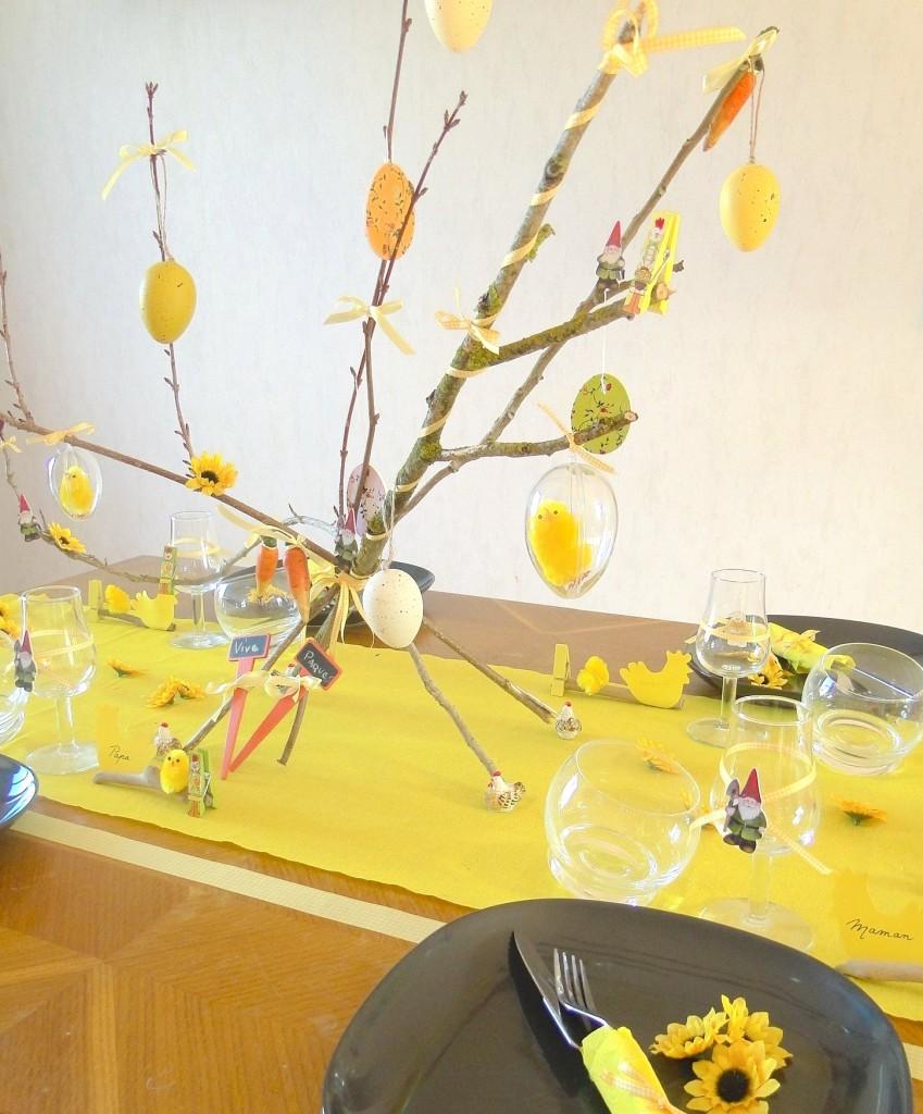 DIY Table de Pâques
