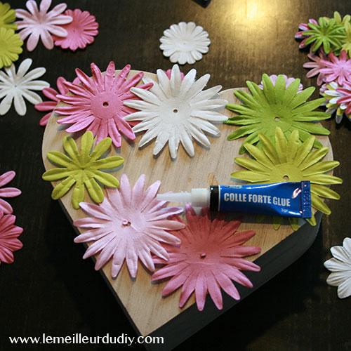 collage fleurs