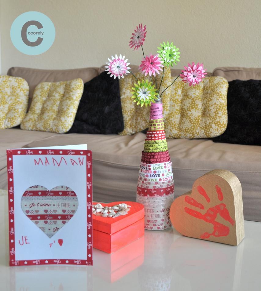 DIY vase - boite - carte