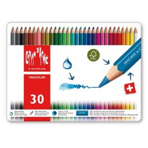 Boîte métal de 30 couleurs Fancolor
