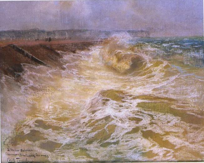 la vague de F. Thaulow