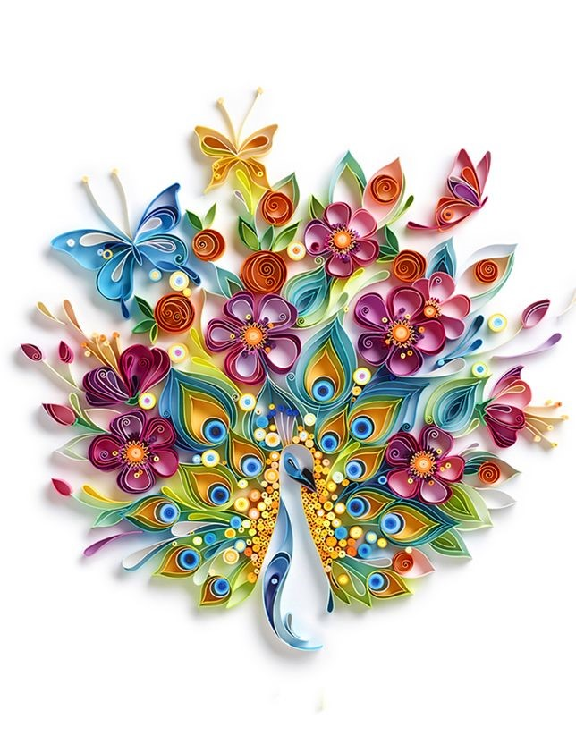 quilling - yulia - paon