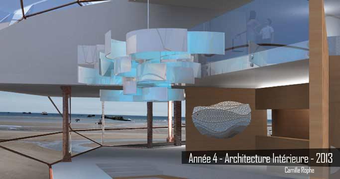Année 4 - Architecture intérieure