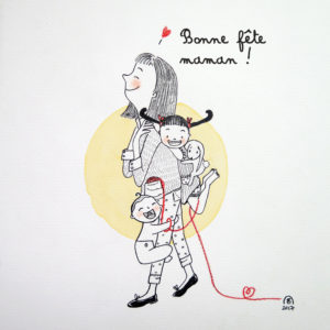 illustration isabelle monnerot dumaine