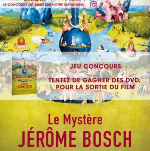 jeu concours jerome bosch