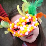Masque Pompon Girl - Julie adore