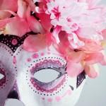 Masque Dia de los muertos - Poulette magique