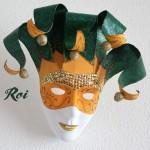 """Masque """"Le Fou du Roi"""" - Carnet de douceurs"""