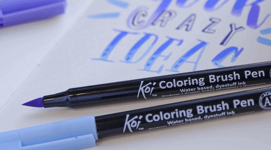 koi-pen brush