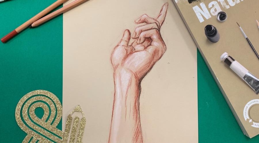 Dessiner une main